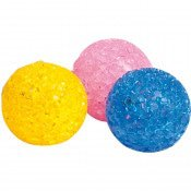 PS BALL GLITTER 3,75 CM - KOKER