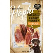 Hondensnack Hapki Rabbit Ear Wrapped with Chicken 85 gr