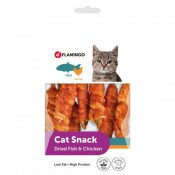 Kattensnack Dried Fish with Chicken 50 gr - Multipack 10 stuks