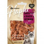 Kattensnack Soft Duck strips 50 gram