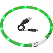 VISIO LIGHT LED HALSBAND GROEN 70CM
